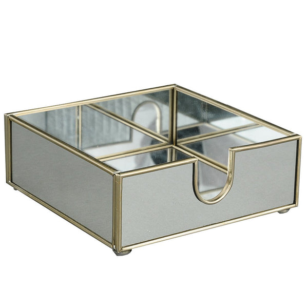New Mirror cocktail napkin holder
