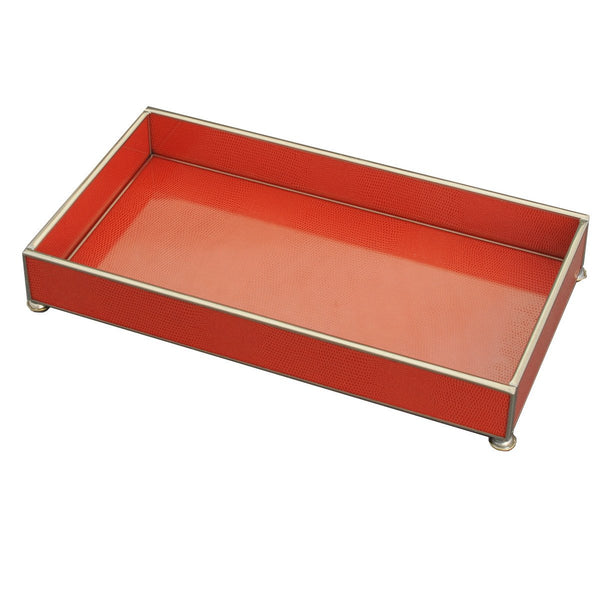 orange lizard skin 6 x 12 tray