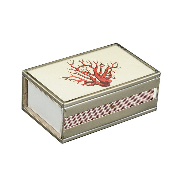 Red Coral Matchbox cover