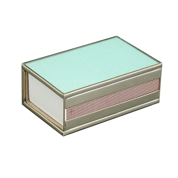 Sea Foam Matchbox cover