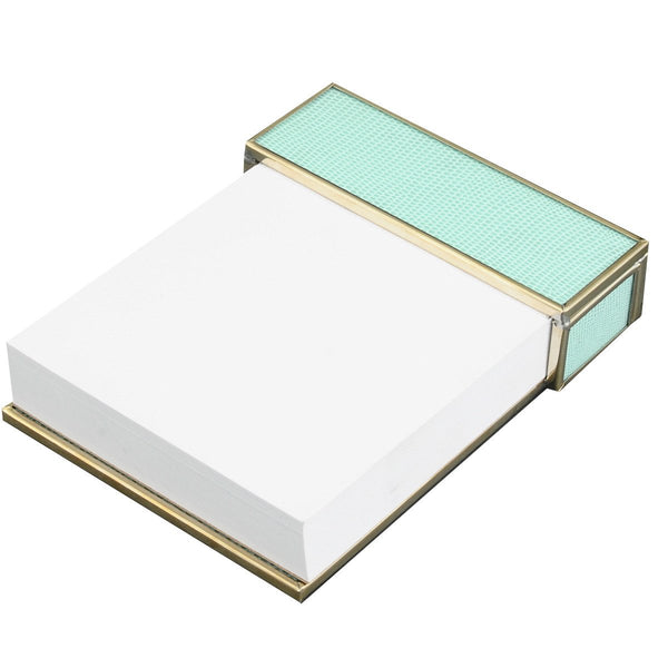 Sea Foam notepad