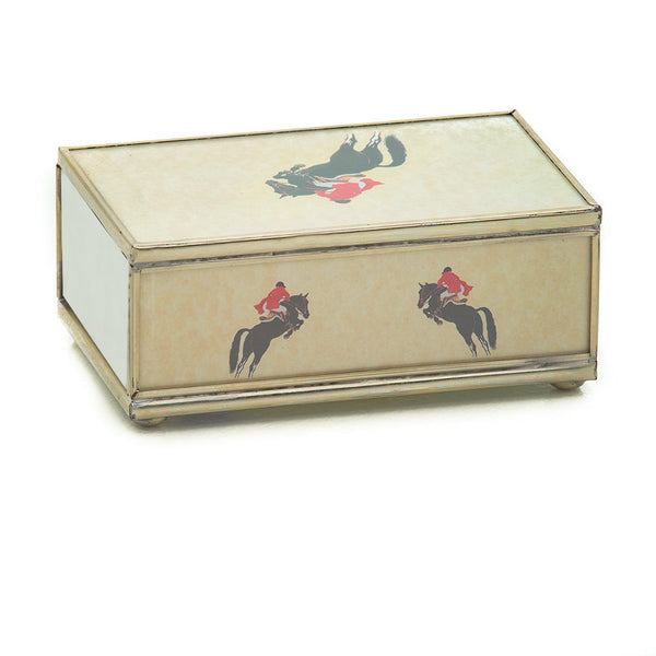 Jumping Horse Matchbox Cover