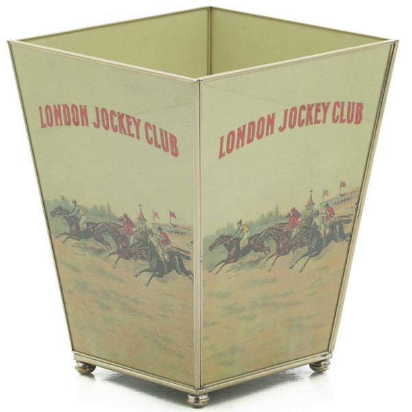 London Jockey club waste bin