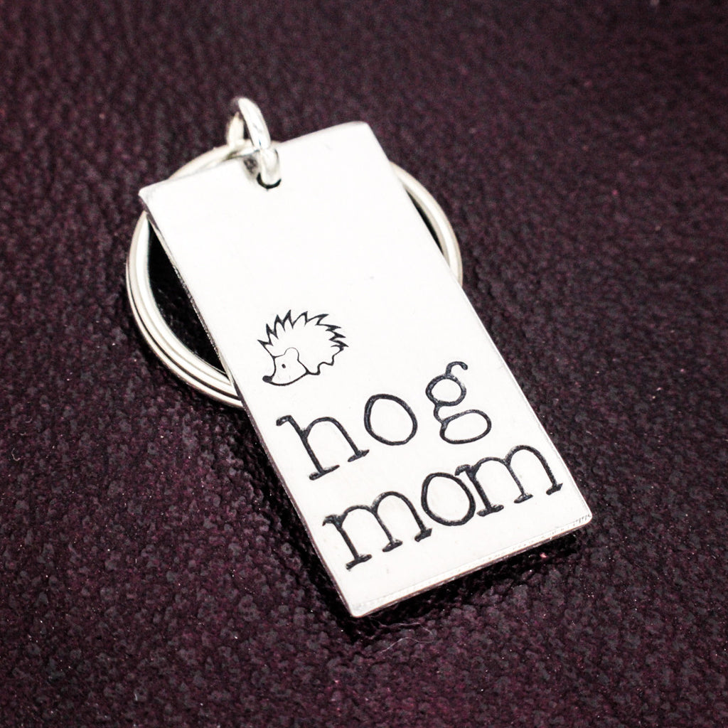 Hog Mom Key Chain - Mother's Day - Gift for Moms - Aluminum Key Chain - It Came From the Internet
