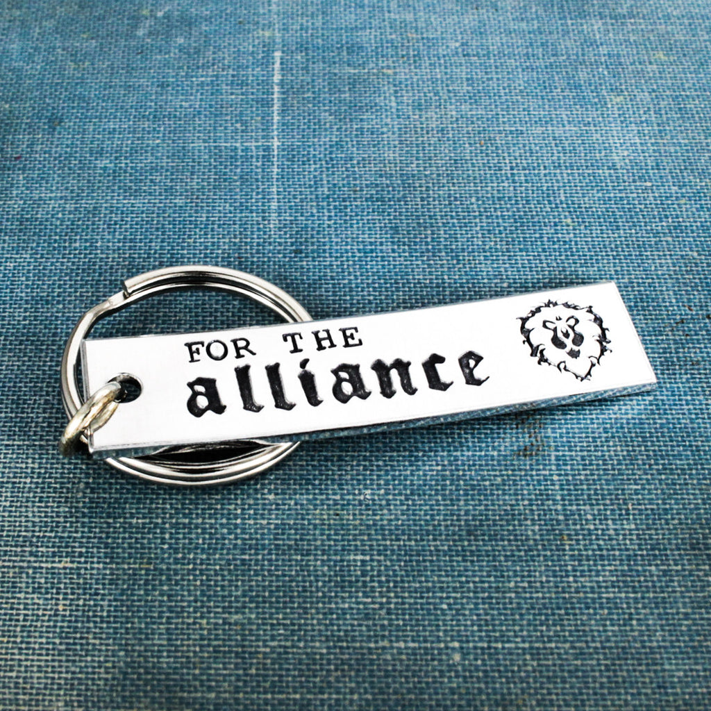 Alliance - World of Warcraft - Aluminum Key Chain - It Came From the Internet