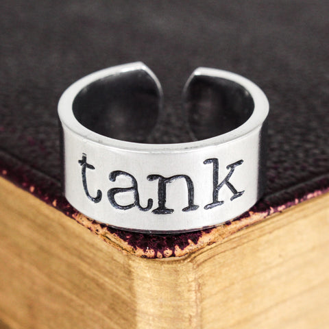 Horde Tank - World of Warcraft - Adjustable Aluminum Ring - It Came From the Internet