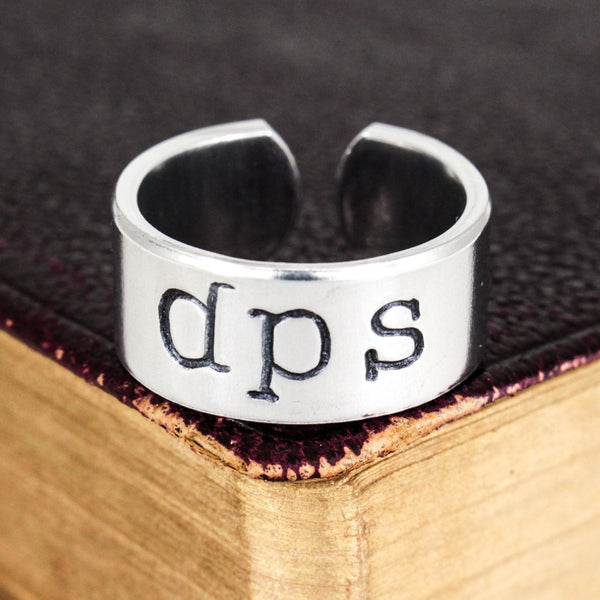 Horde DPS Ring - World of Warcraft - Adjustable Aluminum Ring - It Came From the Internet