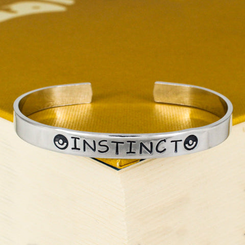 Team Instinct Bracelet - Pokeball - Video Games - Aluminum Bracelet