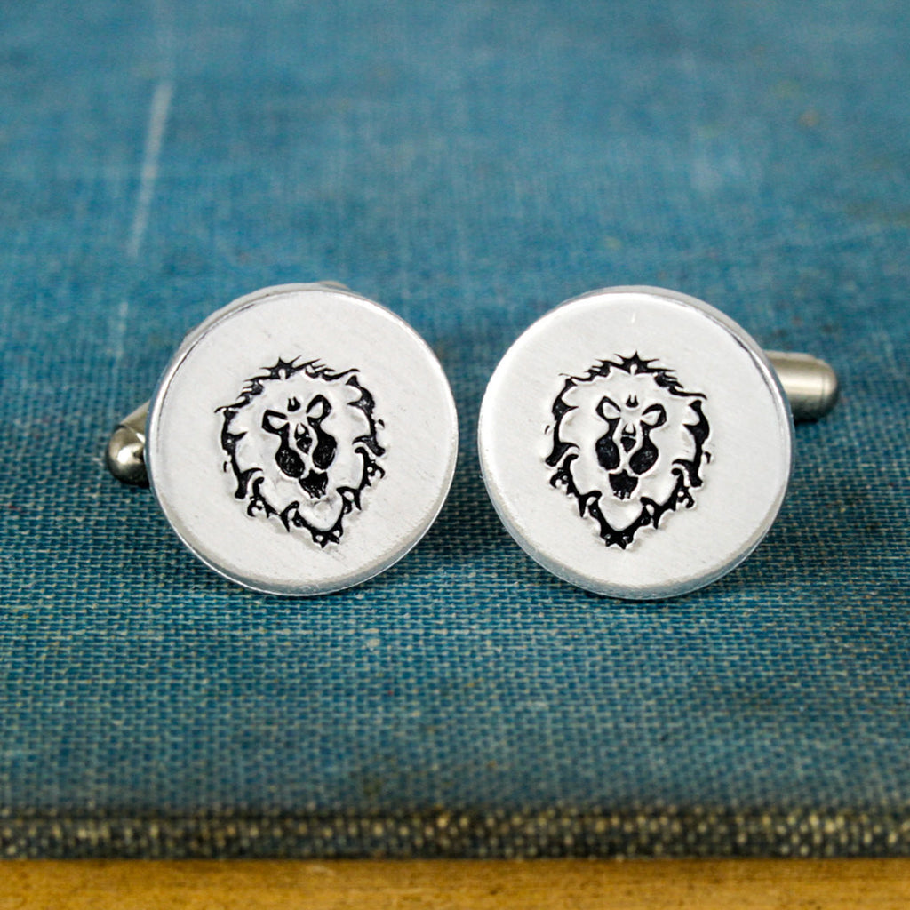 Alliance Cuff Links - Video Game Gift - Warcraft - Aluminum Cuff Links - It Came From the Internet