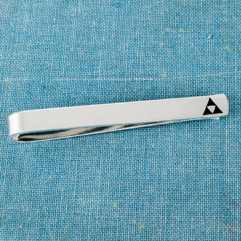 Triforce Tie Bar - Legend of Zelda - Geekery - Gifts for Him - Video Game Gift - Aluminum Tie Clip