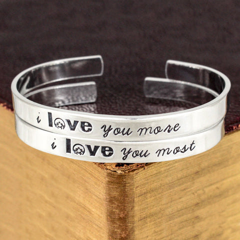 I Love You More I Love You Most - Metroid - Video Game Bracelet Set - It Came From the Internet