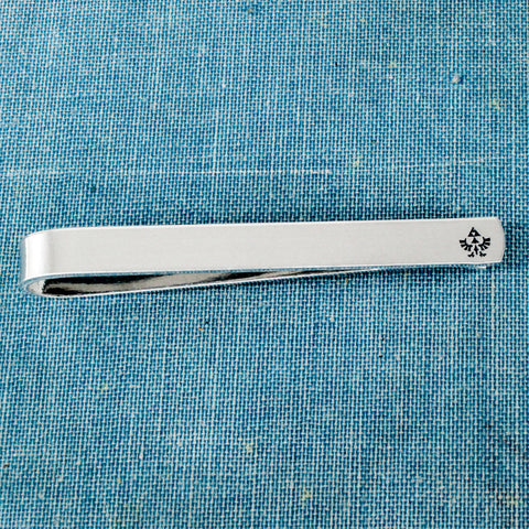 Eagle Triforce Tie Bar - Legend of Zelda - Geekery - Gifts for Him - Video Game Gift - Aluminum Tie Clip - It Came From the Internet
