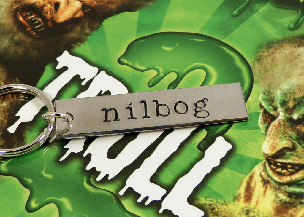 NILBOG - Troll 2 - Aluminum Key Chain - It Came From the Internet