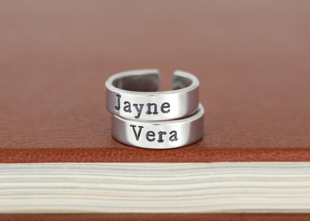 Jayne and Vera - Firefly - Adjustable Aluminum Rings - It Came From the Internet