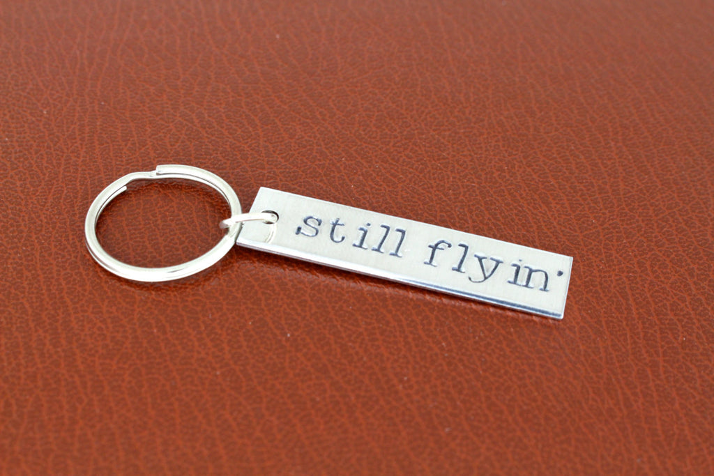 Still Flyin' - Firefly - Aluminum Key Chain