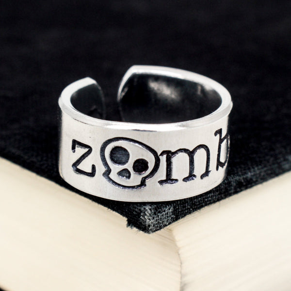 Zombie Ring - Adjustable Aluminum Cuff Ring