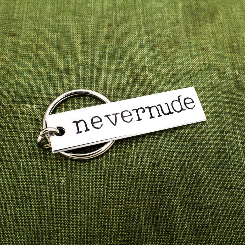 Nevernude - Arrested Development - Aluminum Key Chain - It Came From the Internet