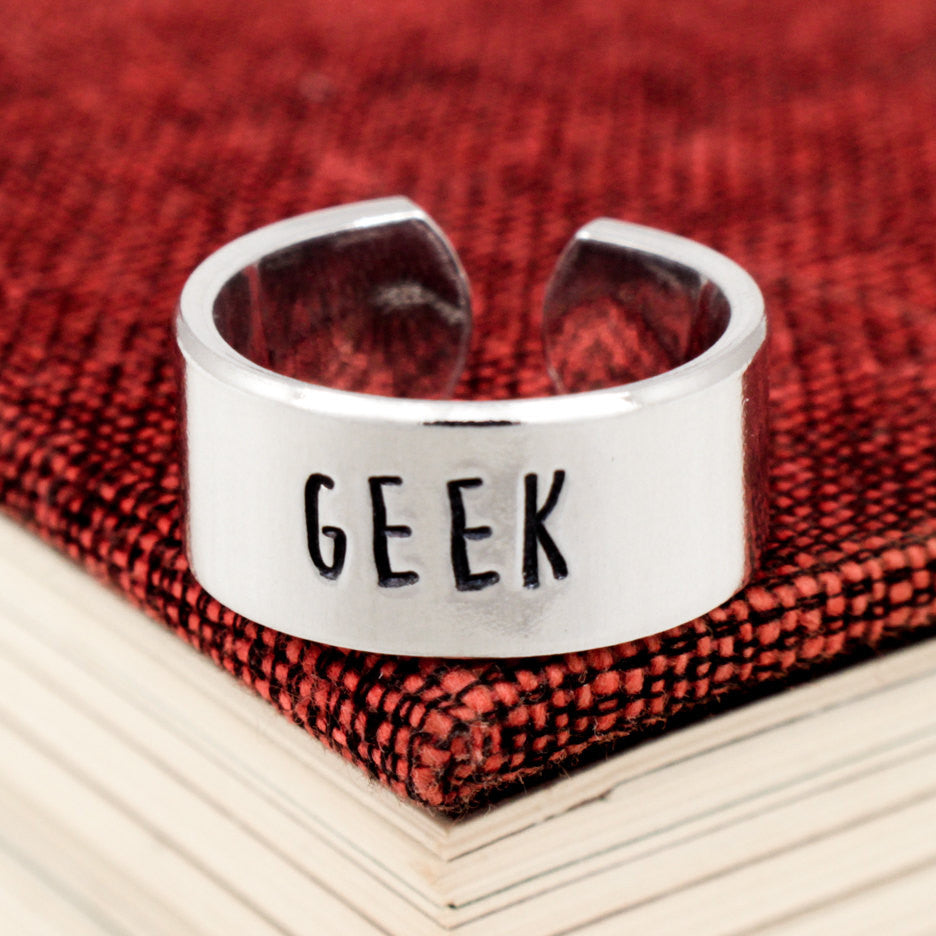 Geek Ring - Geekery - Adjustable Aluminum Ring - It Came From the Internet