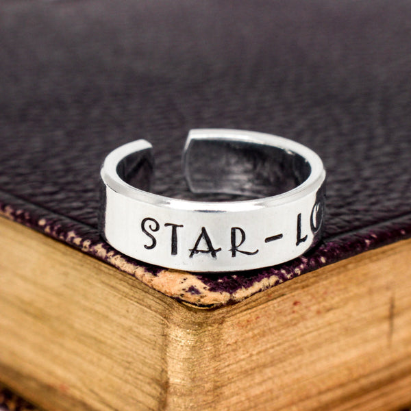 Star-Lord - Guardians of the Galaxy - Quill  -  Adjustable Aluminum Wrap Ring