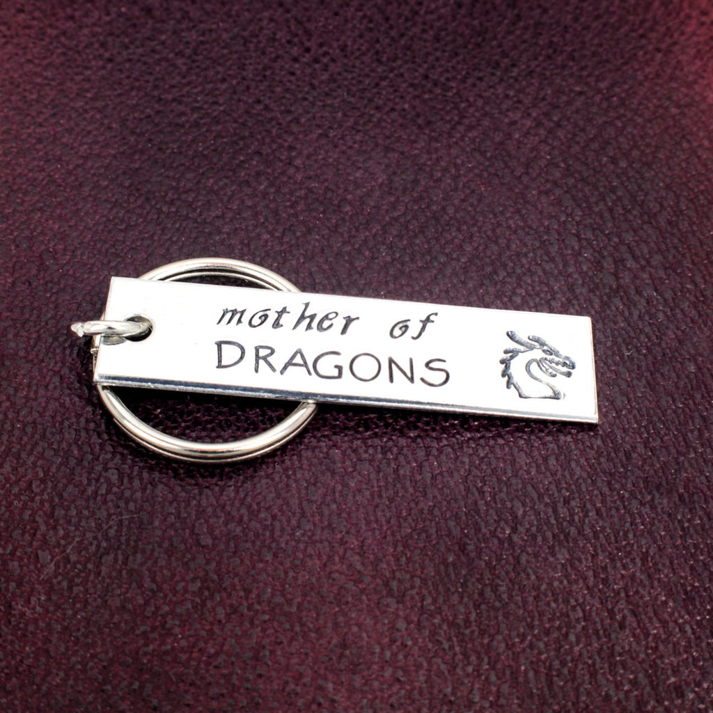 Mother of Dragons - Game of Thrones - Khaleesi - Aluminum Key Chain - It Came From the Internet