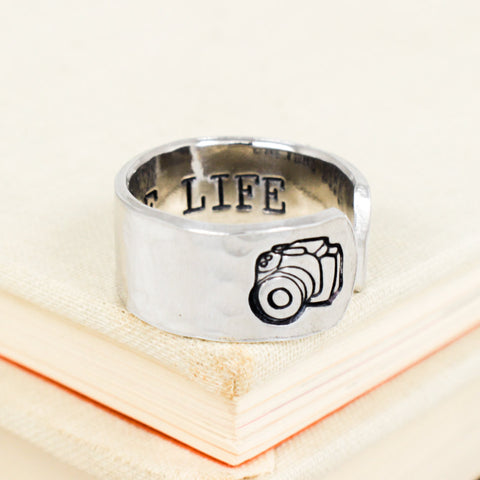 Capture Life - Photography - Adjustable Aluminum Ring - It Came From the Internet