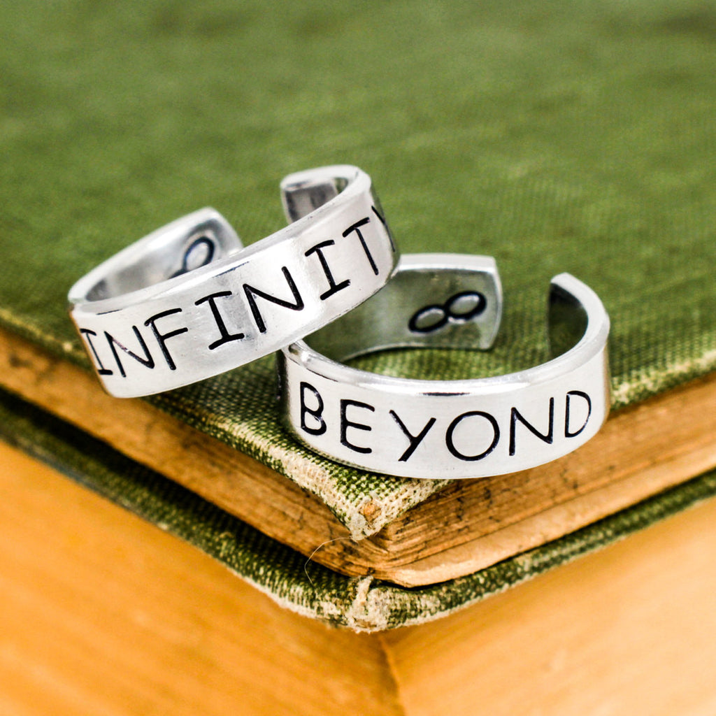 To Infinity and Beyond Ring Set - Best Friends - Friendship Ring Set