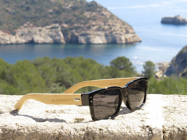GAFAS SOL MADERA YELLOWSTONE BLACK
