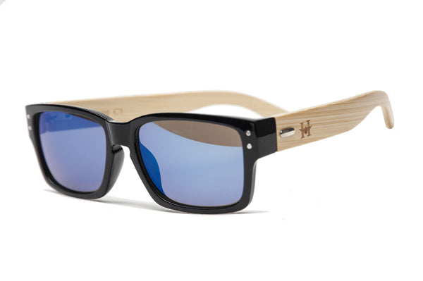 GAFAS SOL MADERA YELLOWSTONE BLUE
