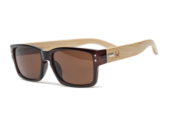GAFAS SOL MADERA YELLOWSTONE BROWN