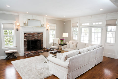 White Cottage Interior Design Work