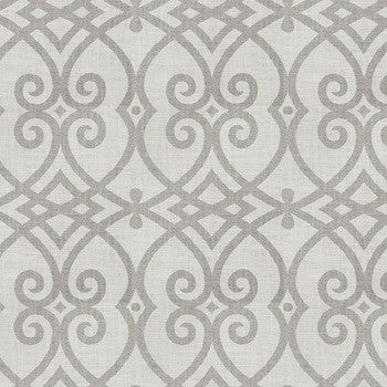 Custom Classic Roman Shade Valance- Architect Dove Gray Linen