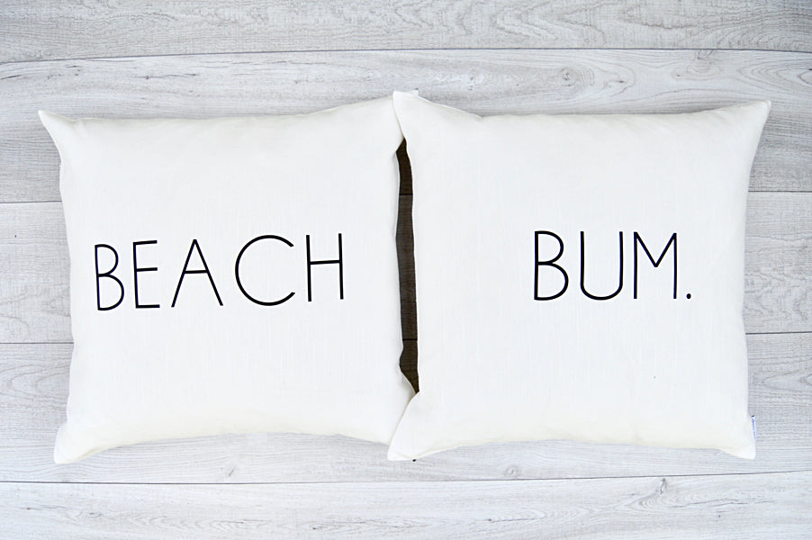 Beach Bum Pillows