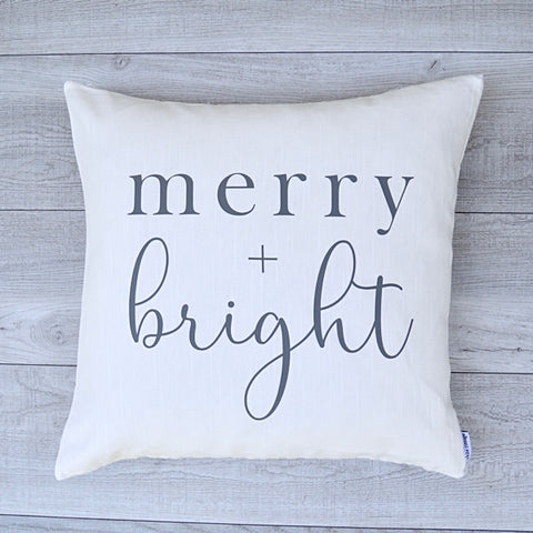 Merry + Bright Pillow