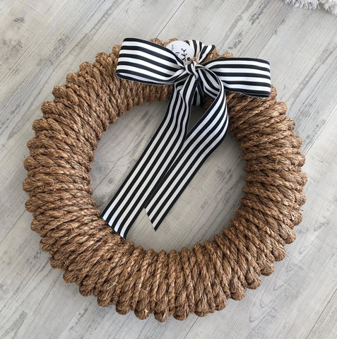 Newport Rope Wreath