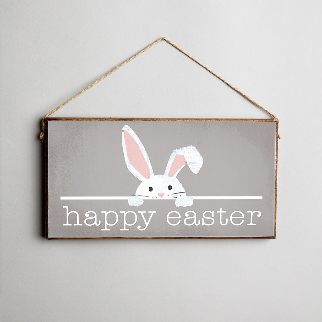 Easter Bunny Twine Hanging Sign