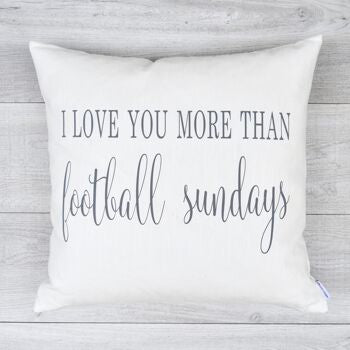 Football Sundays Pillow Cover