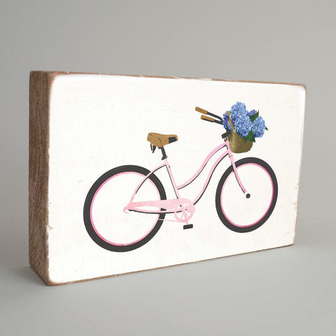 Blush Beach Cruiser XL Rustic Block