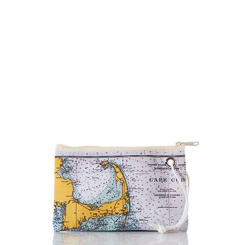 Cape Cod Nautical Chart Small Wristlet