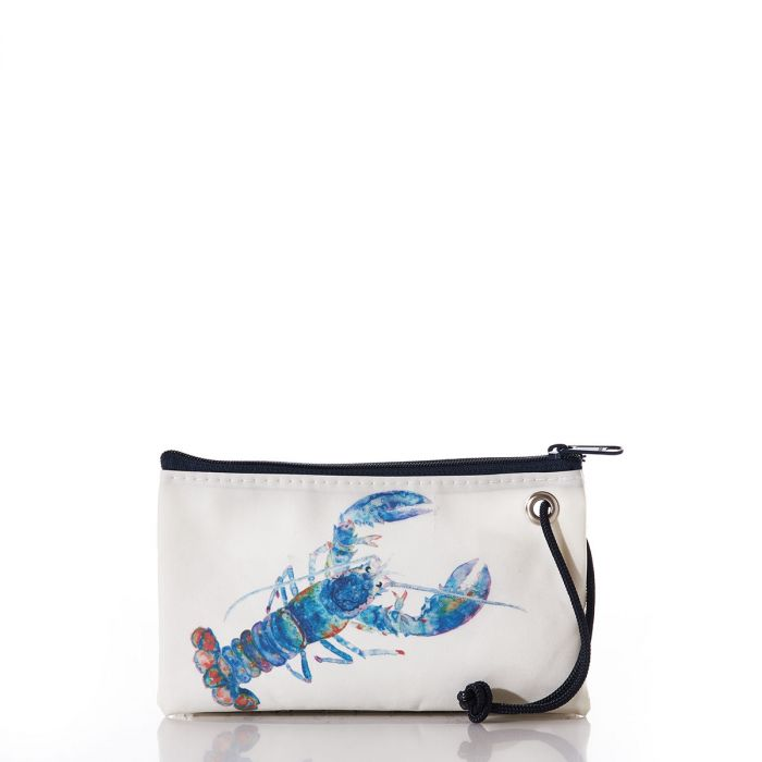 Multi color Lobster Small Wristlet