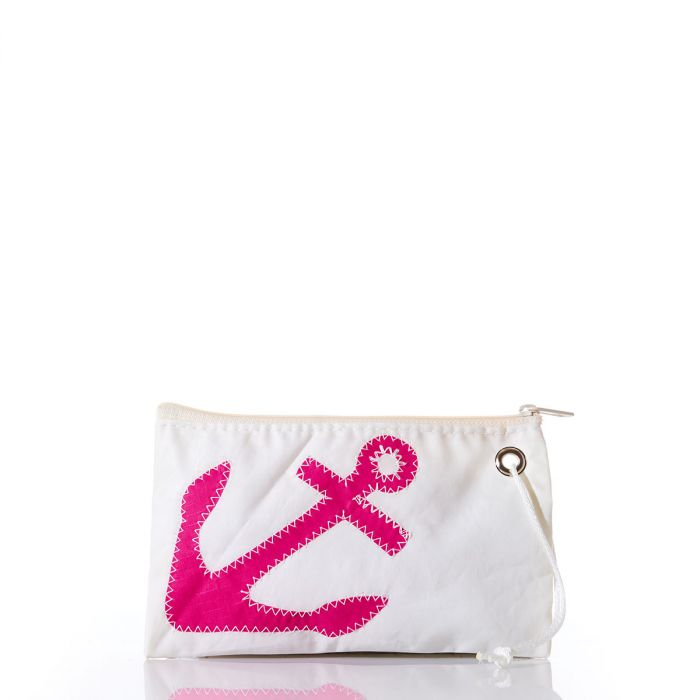 Fuchsia Anchor Small Wristlet