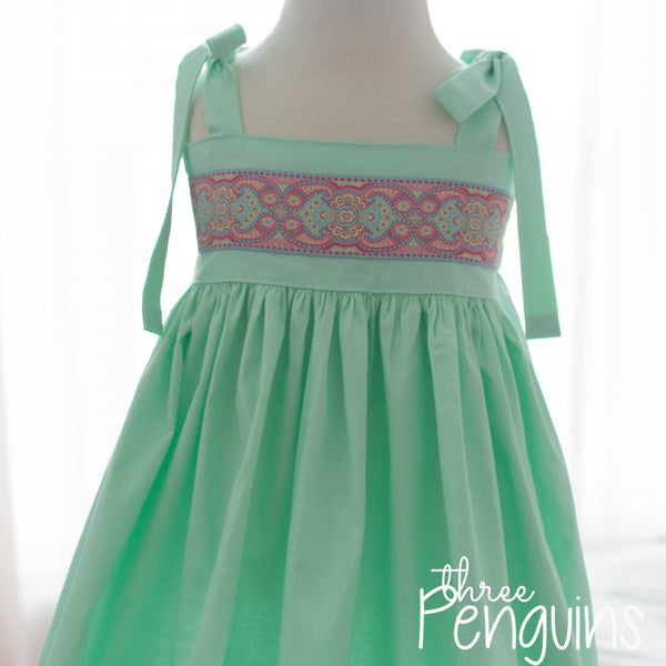 Marvelous in Mint Maxi Dress- Size 6