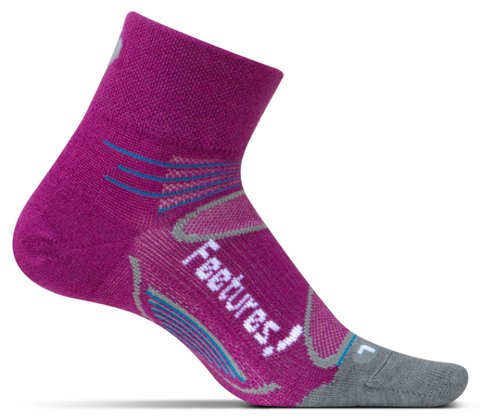 Feetures Elite Ultra Light Merino+ Quarter