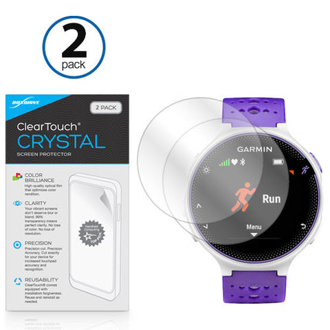 ClearTouch Crystal Screen Protector Forerunner 230 (2-Pack)