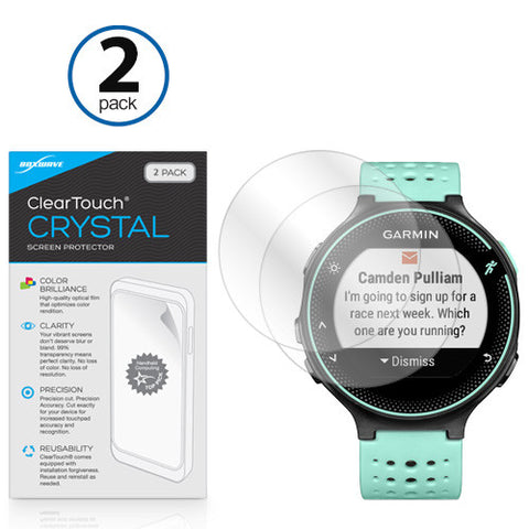 ClearTouch Crystal Screen Protector Forerunner 235 (2-Pack)