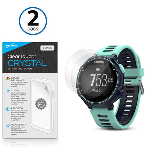 ClearTouch Crystal Screen Protector Forerunner 735XT (2-Pack)