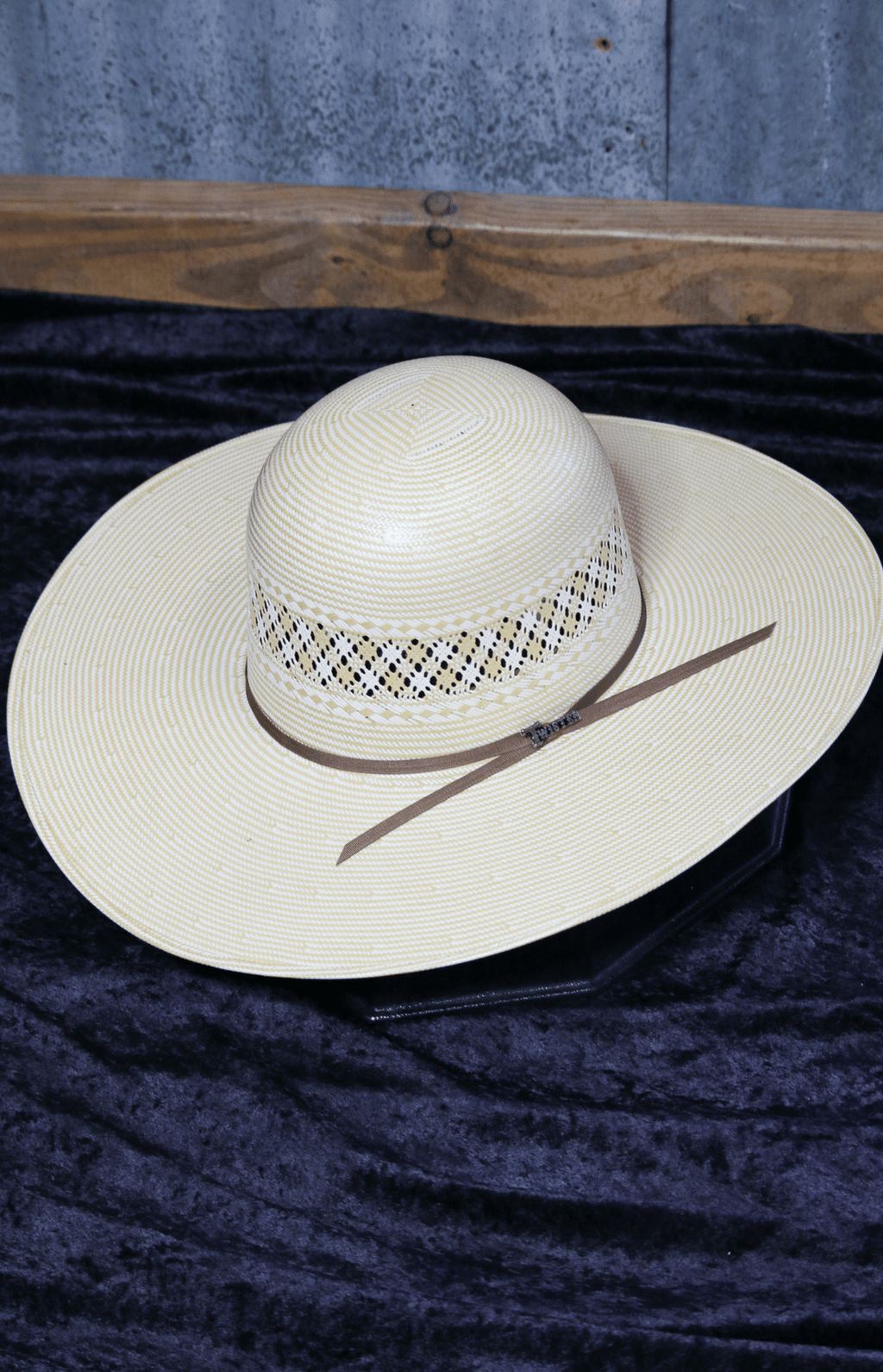 "Twister 10X 5"" brim 3527 Straw"