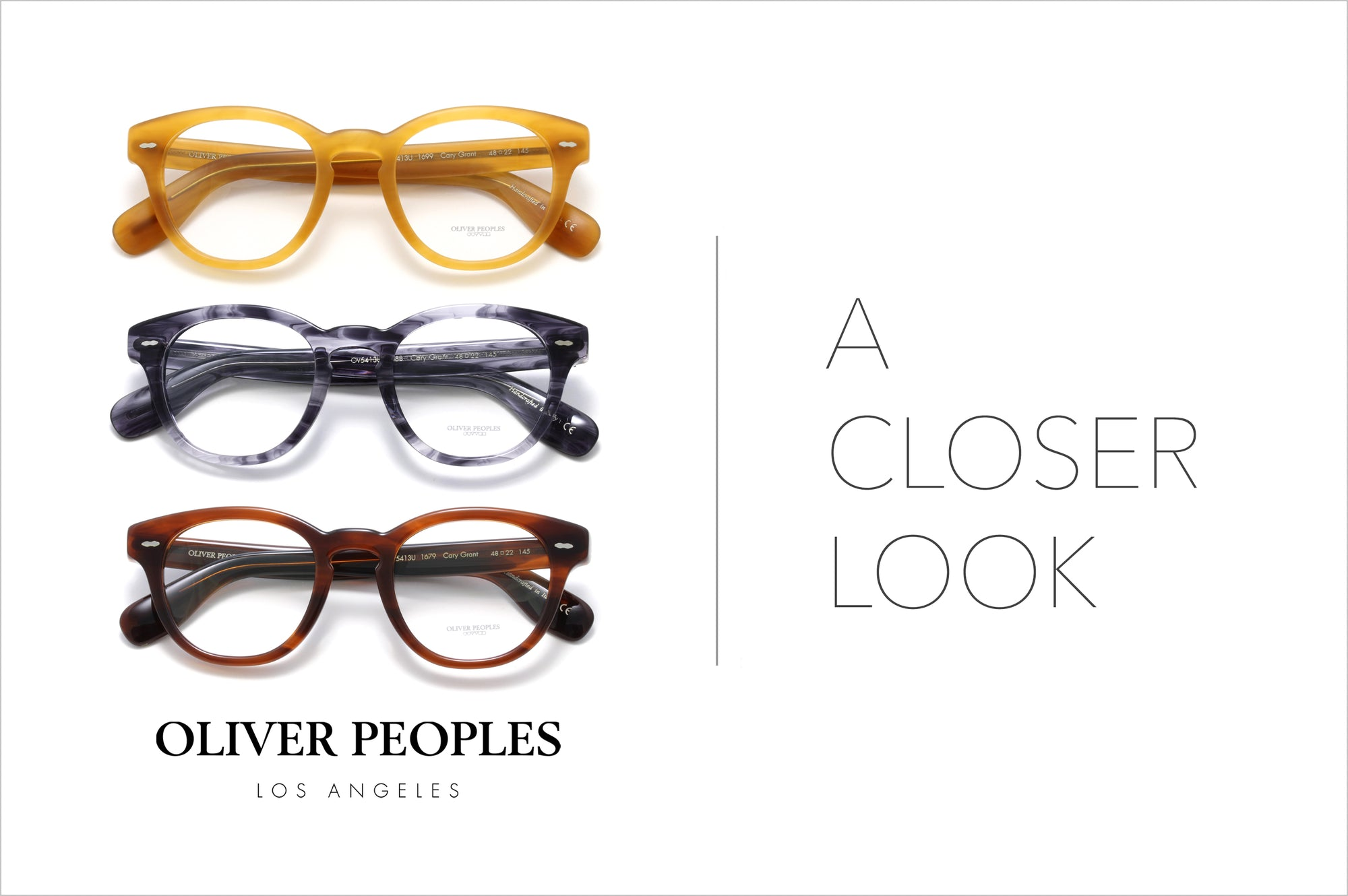 Oliver Peoples | A Closer Look by Specs Collective