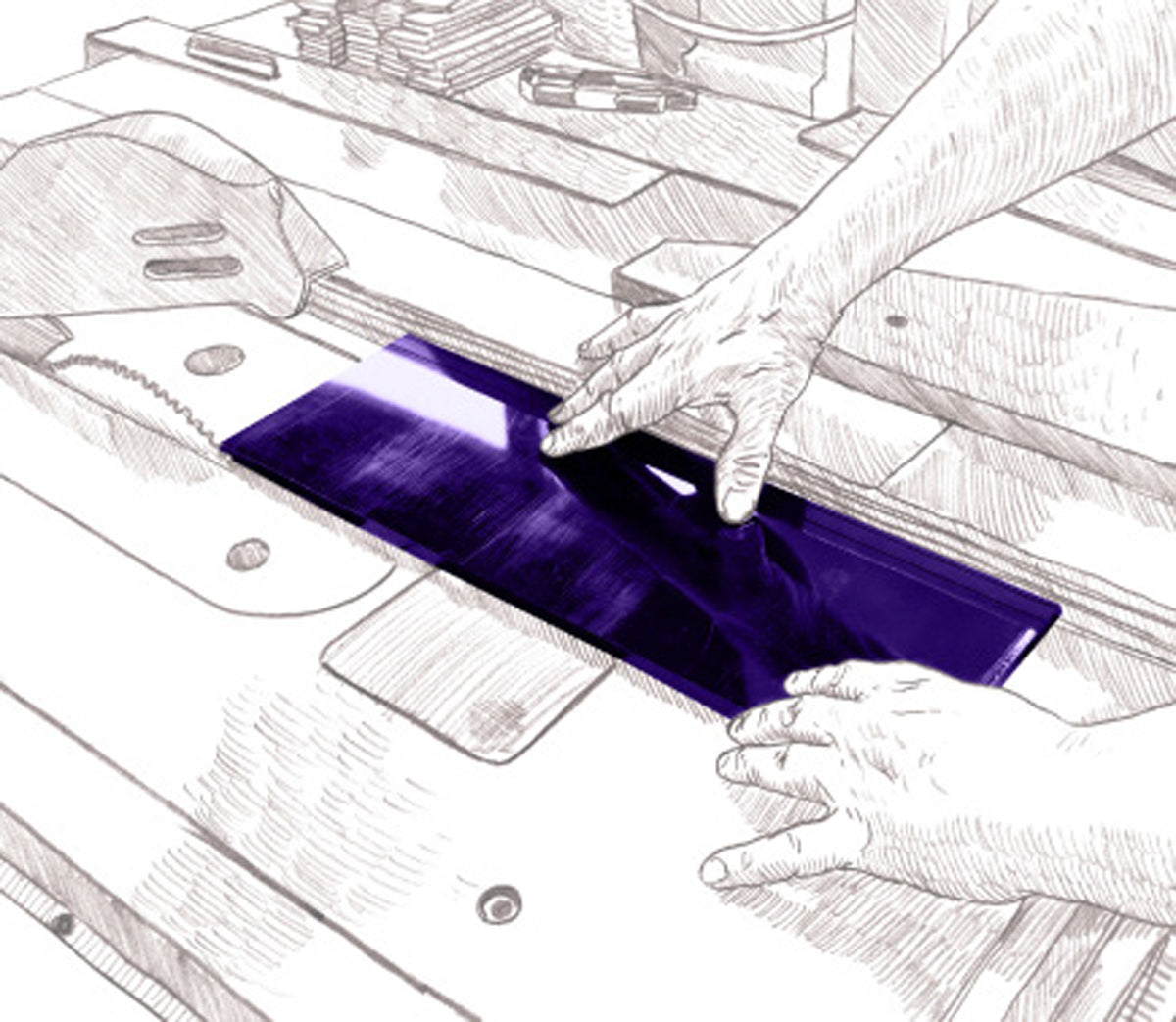 Cutler and Gross - Cut Acetate Into Strips