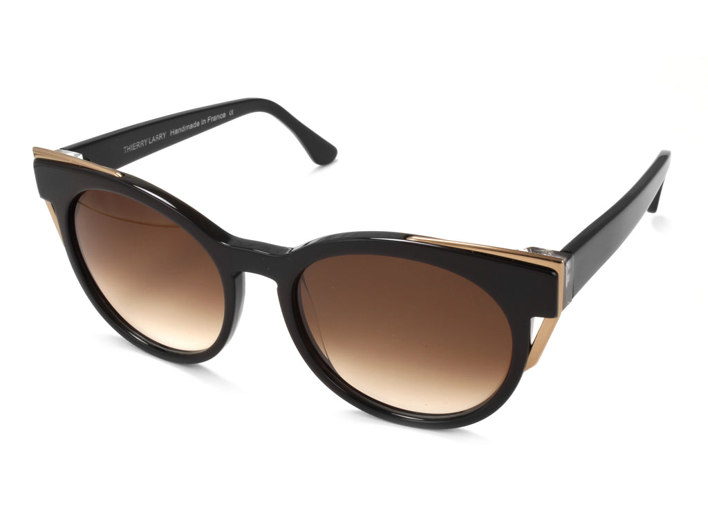 Thierry Lasry | Monogamy in Black & Vintage Gold (101)