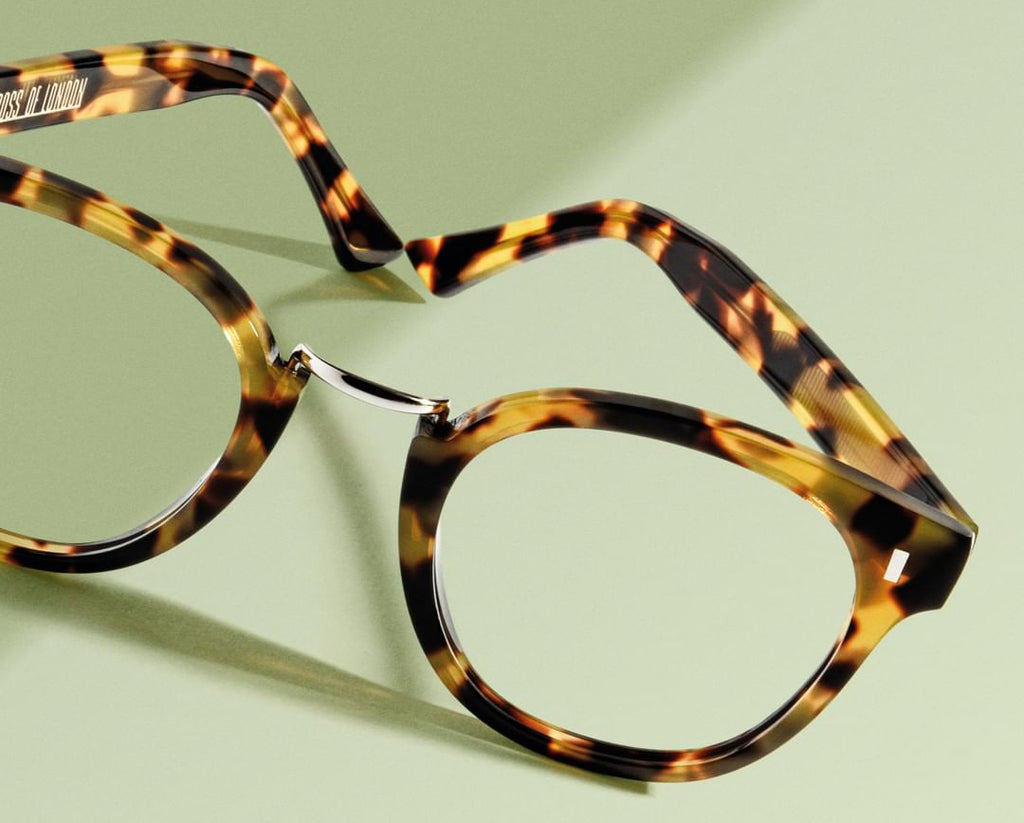 Cutler and Gross // 1336 Eyeglasses in Camouflage